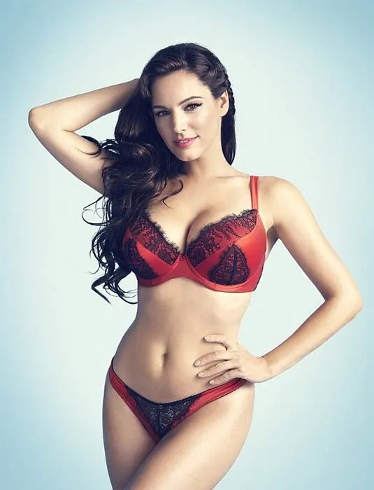 Kelly Brook Sizzles In New Lingerie Shots