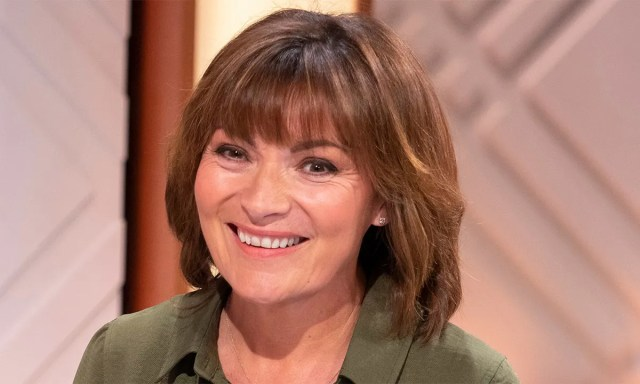 lorraine kelly's latest floral dress has got to be her most