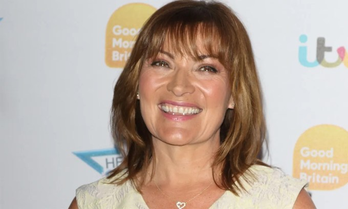 lorraine kelly proves you can rock a red jumpsuit at any age