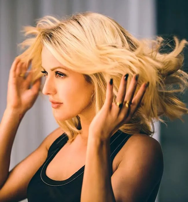 Ellie Goulding is fronting Pantene's new Strong is Beautiful campaign.   HELLO!