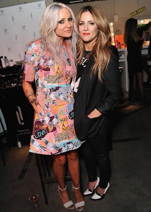 Harry Styles And Ex Caroline Flack Reunite At Book Launch