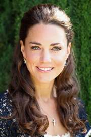 kate's royal tour hairstyles