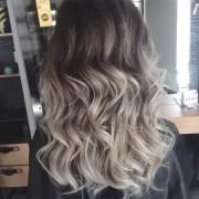 grey ombr hair