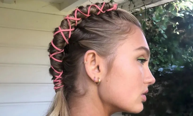 The pipe braid hairstyle was the major hair trend at