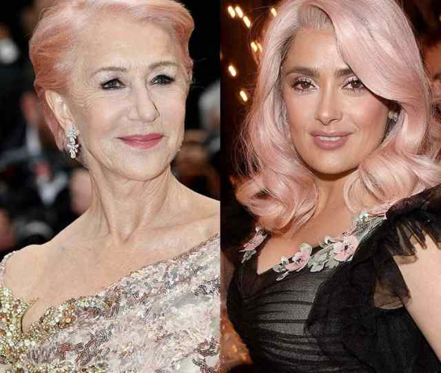 14 Celebrities Wholl Convince You To Try Pink Hair For Summer