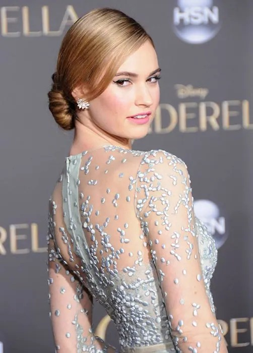 Lily James Best Beauty Looks Photo 1