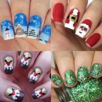 The best Christmas nail art ideas - Photo 1