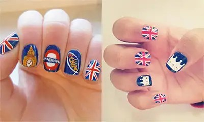 The Best Patriotic Nail Art Ideas In Honour Of Queen S Birthday