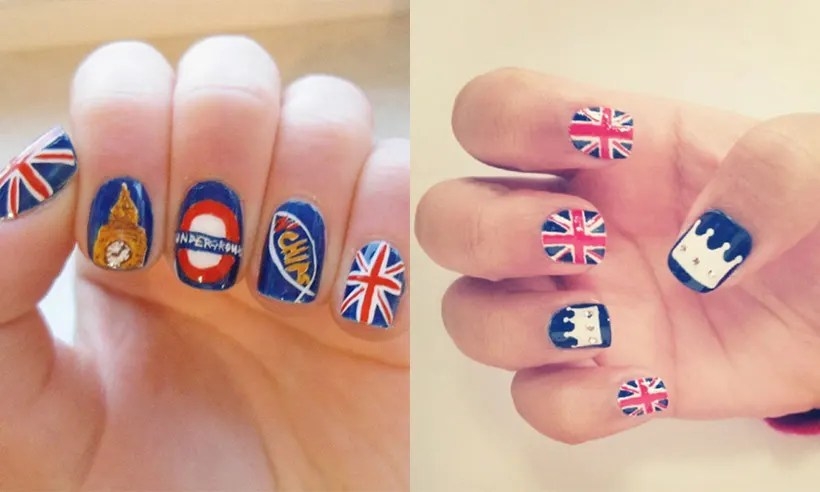 The Best Patriotic Nail Art Ideas In Honour Of Queen S Birthday Photo 1