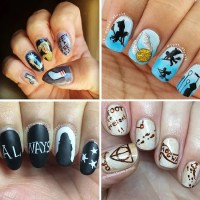 15 Harry Potter nail art designs that are seriously ...