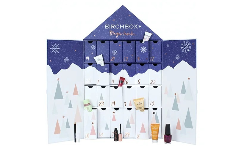Image result for birchbox advent calendar 2018 pics