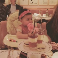 High Chair Restaurant La Z Boy Cool Uk Nadine Coyle Shares Instagram Photo Of Baby Daughter Anaíya