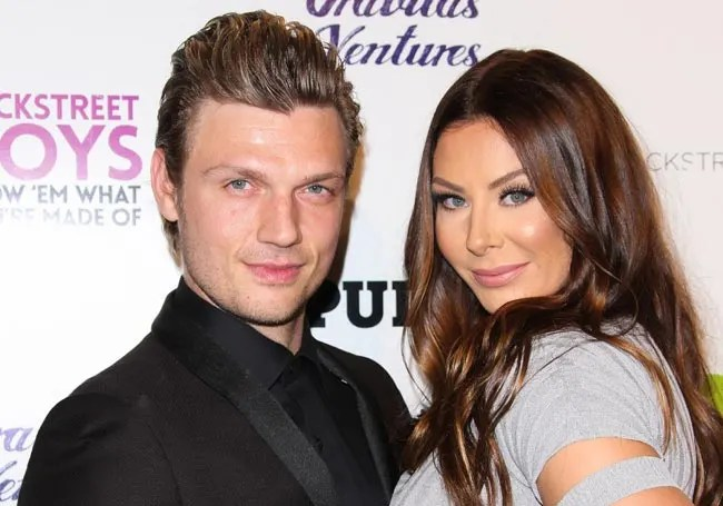 Nick Carter and wife Lauren reveal baby's gender on Dancing with the Stars