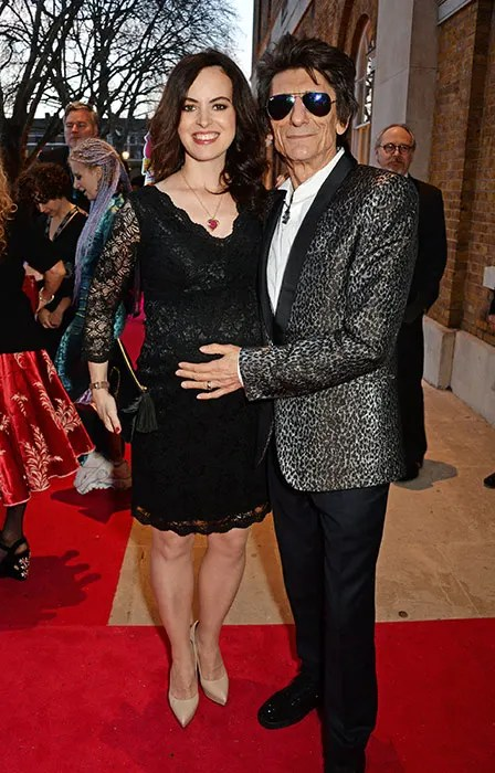 Ronnie Wood And Wife Sally Welcome Perfect Twin Girls