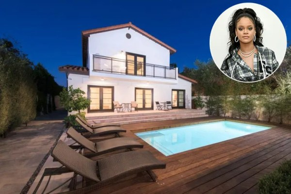 Rihanna is selling her West Hollywood home for £2.1million ...