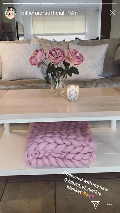 colour shade for living room paint ideas 2017 billie faiers gives us a masterclass in bringing the ...
