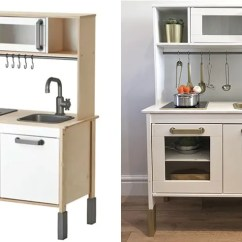 Kitchen Furniture Ikea Kohler Forte Faucet How To Turn S Duktig Play Into The Chicest Toy