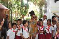 Beyonc's daughter, Blue Ivy, enjoys life on the road from ...