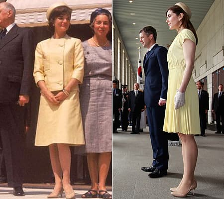 princess mary of denmark s outfit is inspired by jackie onassis