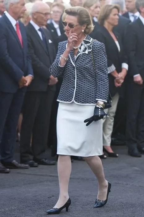 Nowegian massacre Princess MetteMarit attends memorial service  Photo 1
