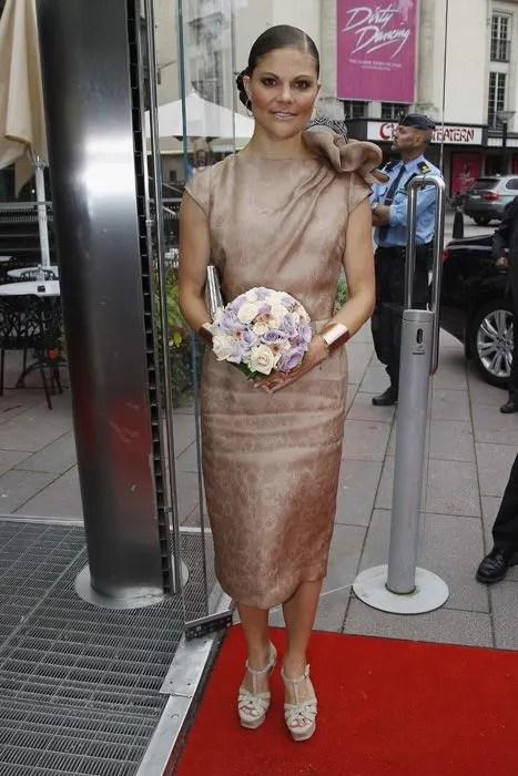 Crown Princess Victoria of Sweden opens Stockholm Fashion week  HELLO