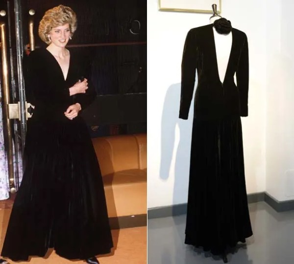 Two of Princess Diana39s dresses to be displayed at