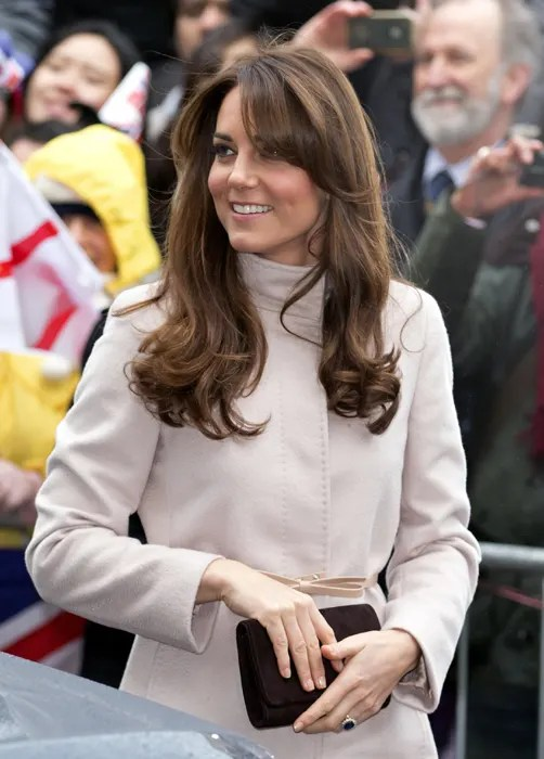 Kate Middleton spotted a new hairdressers