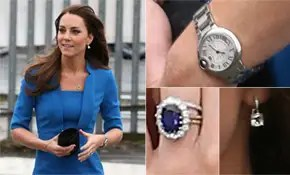 Details On Kate Middletons Jewellery Style