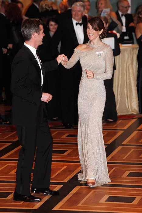 Princess Mary and Prince Frederik of Denmarks 10th