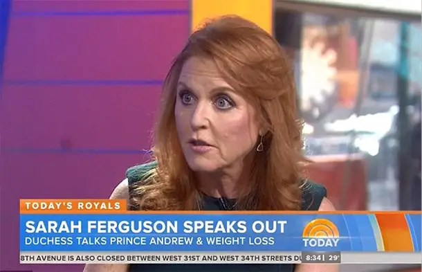 Sarah Ferguson insists Prince Andrew is a humongously
