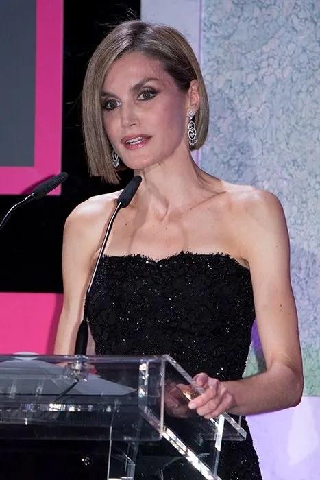 Queen Letizia Of Spain Unveils Dramatic New Bob