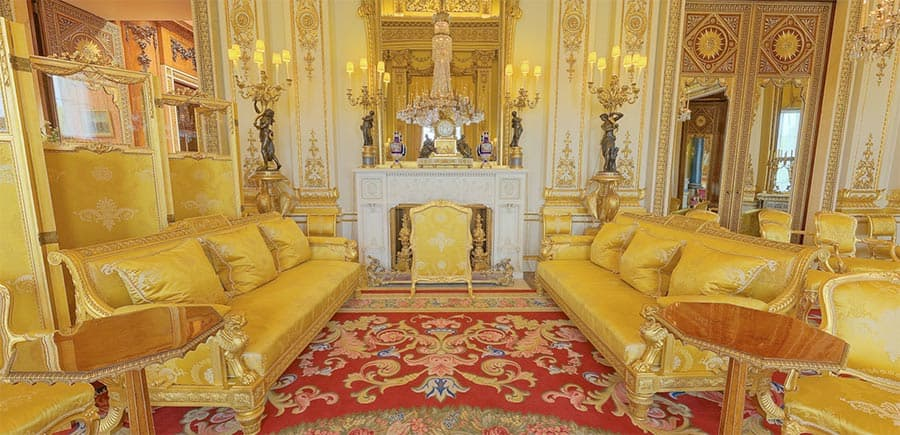 Buckingham Palace Get an access all areas virtual tour of