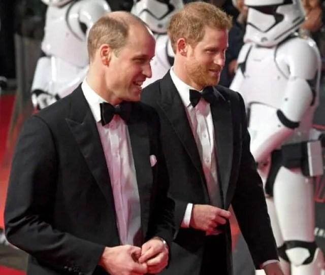 Star Wars Premiere William Harry Red Carpet