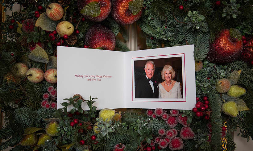 Prince Charles And Camilla Release Official Christmas Card