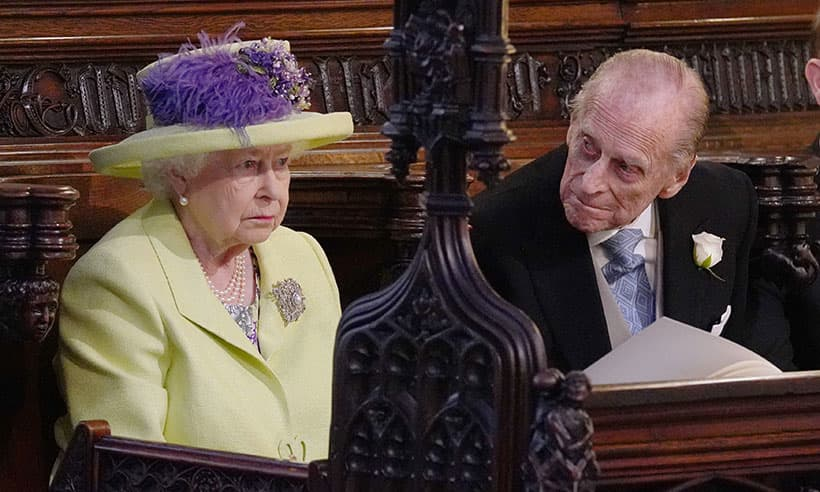 Prince Philip struggled at royal wedding due to cracked rib  HELLO