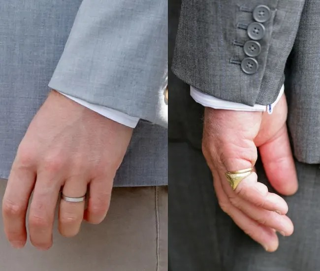 A Close Look At Prince Harrys Wedding Ring And Why Its