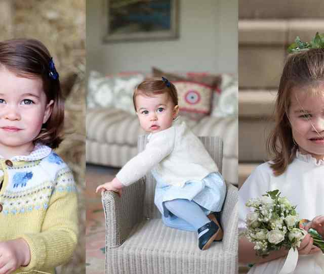 Every Single Photo Of Princess Charlotte From Her First Steps To Famous Royal Wave