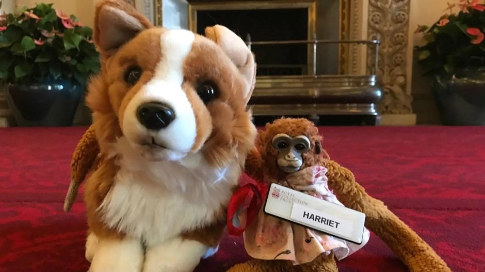 toy monkey lost at buckingham palace