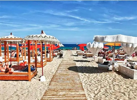 Top six luxury Mediterranean beach clubs - Photo 4