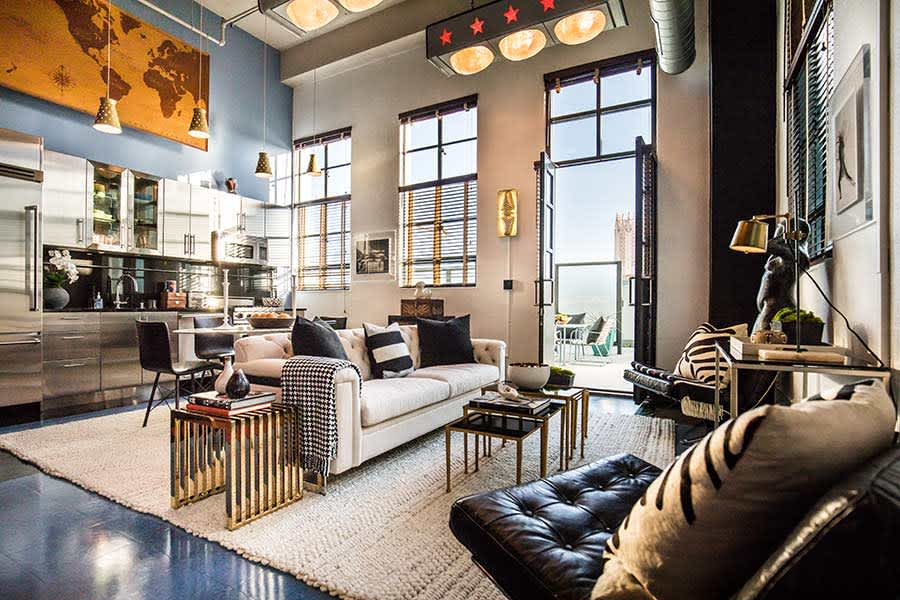 Johnny Depps Luxurious Los Angeles 19million Penthouse Is Up For Sale Take A Look Inside