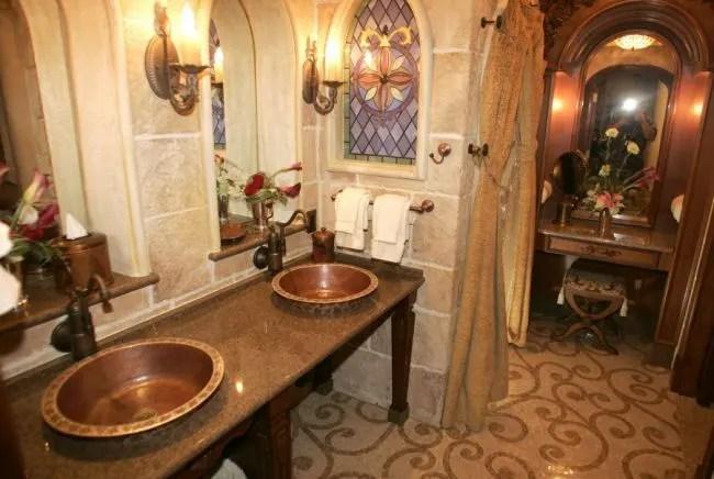 Disney Cinderella Castle Suite Bathroom