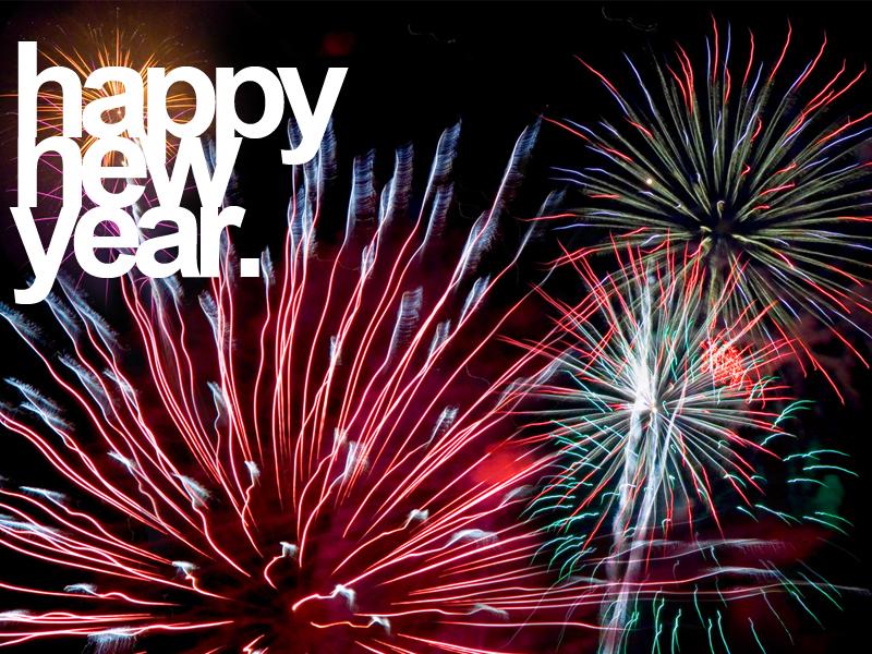 happy new year-