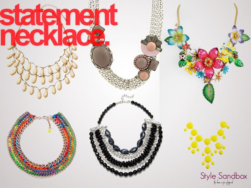 statement necklace part II.