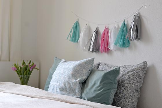 DIY: Seidenpapier Girlande