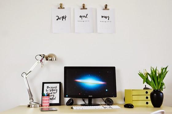 Interior: work space