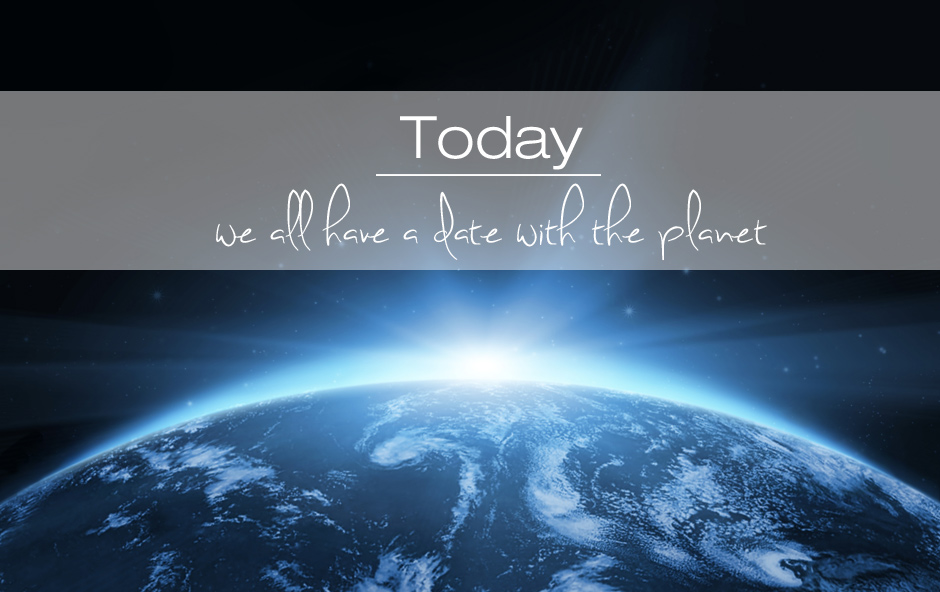 We all have a date with the planet – Internationaler Tag der Umwelt
