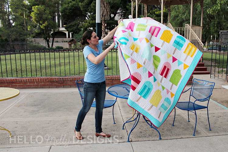 Popsicle Parade Quilt Pattern Debut