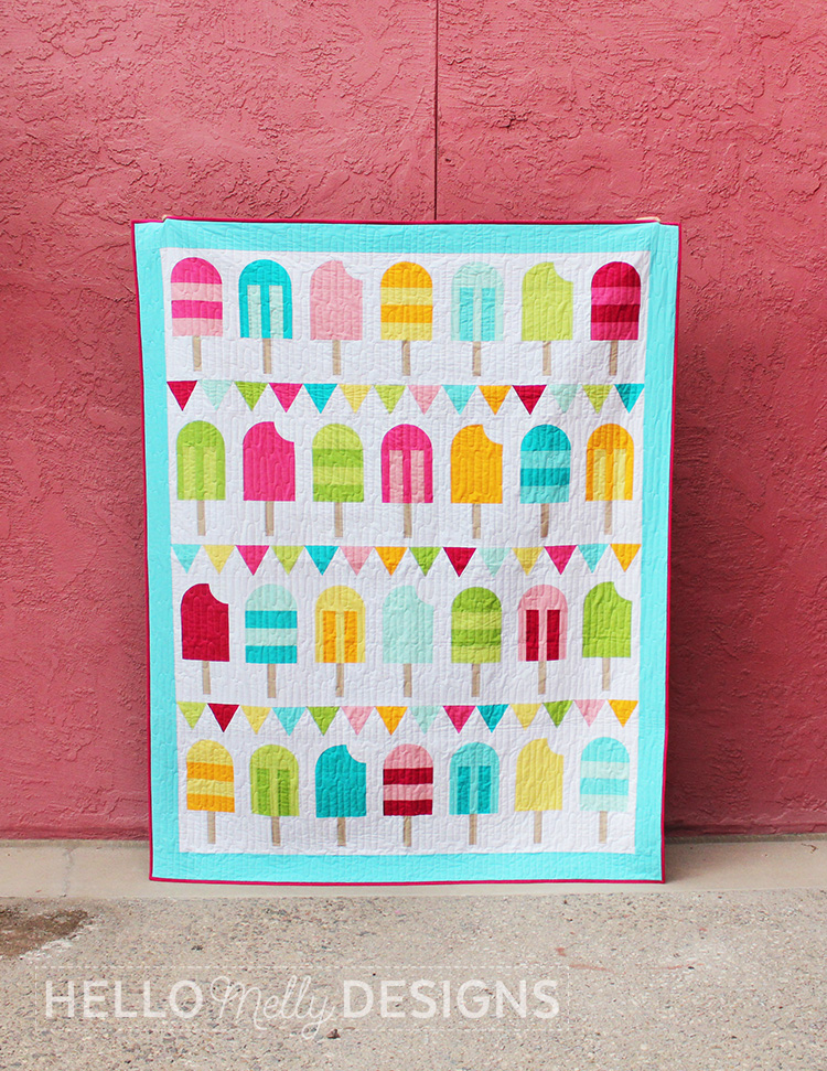 Popsicle Quilt Pattern