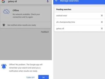 search offline Google