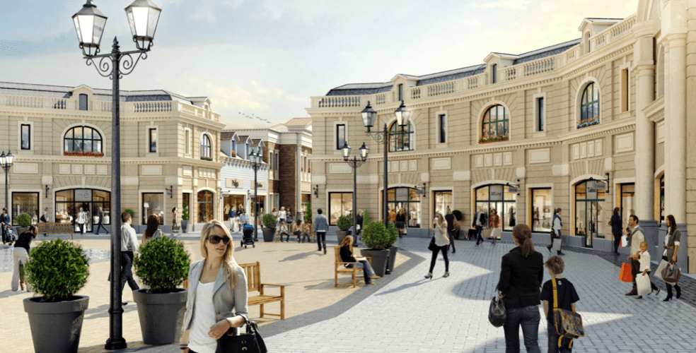 mcarthurglen outlet mall Vancouver Airport
